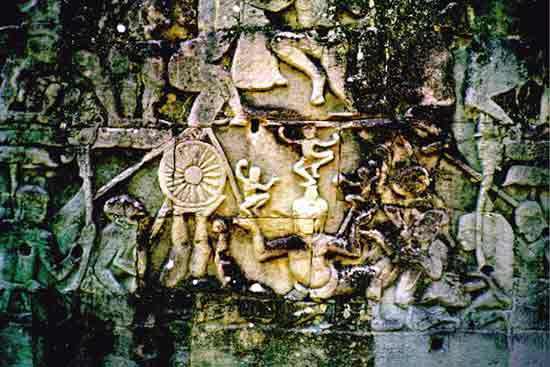 Angkor Wat Carving 3